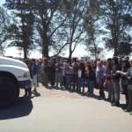 Córdoba: Represión y detenciones en el Barrio Malvinas Argentinas en el acampe y bloqueo a Monsanto