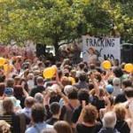 Ciudadanía se moviliza contra desembarco del fracking en España