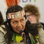 Gloria Ushigua, el espíritu de la Amazonía presente en Paris