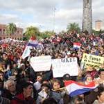 Paraguay: Conclusión de las movilizaciones del 13, 14 y 15 de agosto de 2014